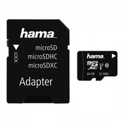 MicroSDXC 64GB Class 10 UHS-I   Adapter/Photo