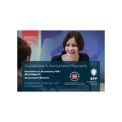 FIA Foundations of Accountant in Business FAB (ACCA F1) : Passcards