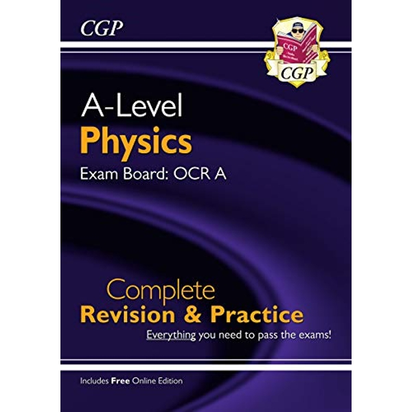 New A-Level Physics: OCR A Year 1 & 2 Complete Revision & Practice with Online Edition  Paperback / softback 2018