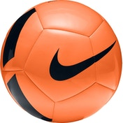 Nike Pitch Team Proven Performance Size 5 Football Total Orange