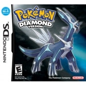 Pokemon Diamond Version Game DS