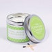 Lime, Basil & Mandarin (Polka Dot Collection) Tin Candle - Image 2