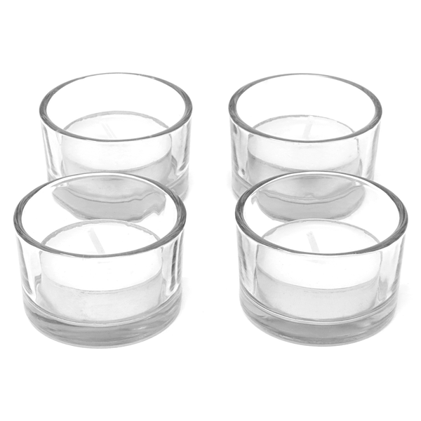 12 X Circle Tea Light Candle Holder | M&W - Image 1