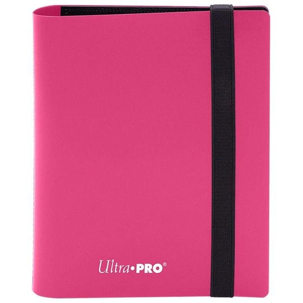 Ultra Pro Eclipse 2-Pocket Pro-Binder - Hot Pink