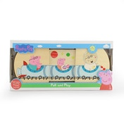 Peppa Pig Wooden Pull And Play Toy
