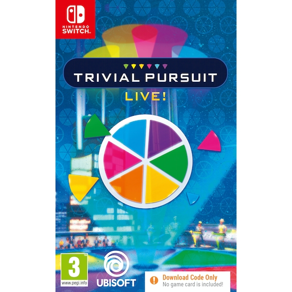 Trivial Pursuit Nintendo Switch Game [Code in a Box]