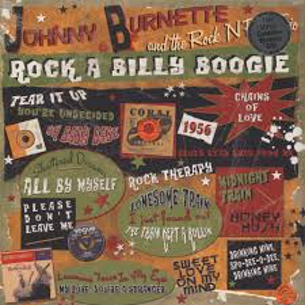 The Johnny Burnette Trio ‎– Rock A Billy Boogie Vinyl