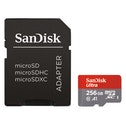 "SanDisk microSDXC Ultra 256GB (A1 / UHS-I / Cl.10 / 100 MB/s) + Adapter, ""Android"""