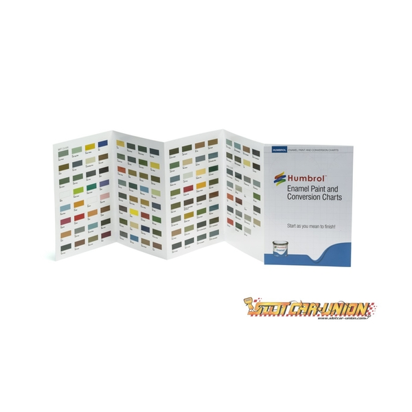 Humbrol - Enamel Colour Chart with Hi-Spec Printing