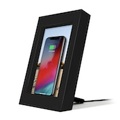 Twelve South PowerPic Picture Frame Stand with integrated 10W Qi Charger for iPhone