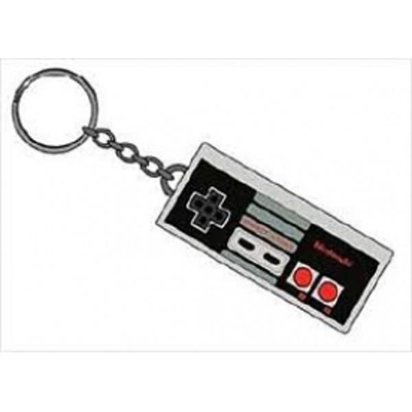 Nintendo Controller Rubber Key Chain - Image 1