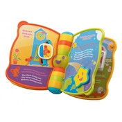 VTech Yellow Peek-a-Boo Book