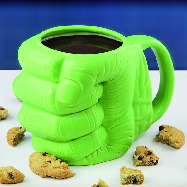 Marvel Hulk Shaped Mug - Image 2
