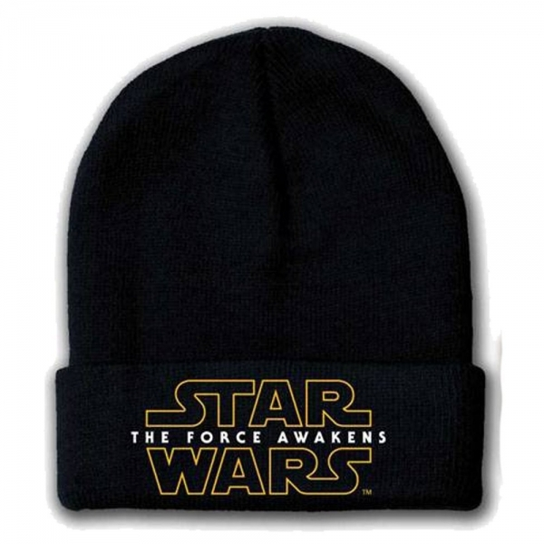 Star Wars VII The Force Awakens Main Logo Beanie