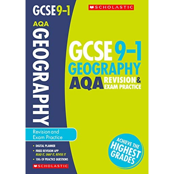Geography Revision and Exam Practice Book for AQA by Daniel Cowling, Philippa Conway Hughes, Lindsay Frost, Matt Young (Paperback, 2017)