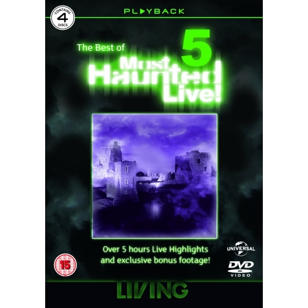 Most Haunted Live Best Of 5 DVD