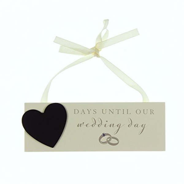 AMORE BY JULIANA? Countdown to Wedding Plaque with Chalk
