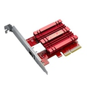 Asus (XG-C100C) 10GBase-T PCI Express Network Adapter, Backwards Compatible, Built-in QoS