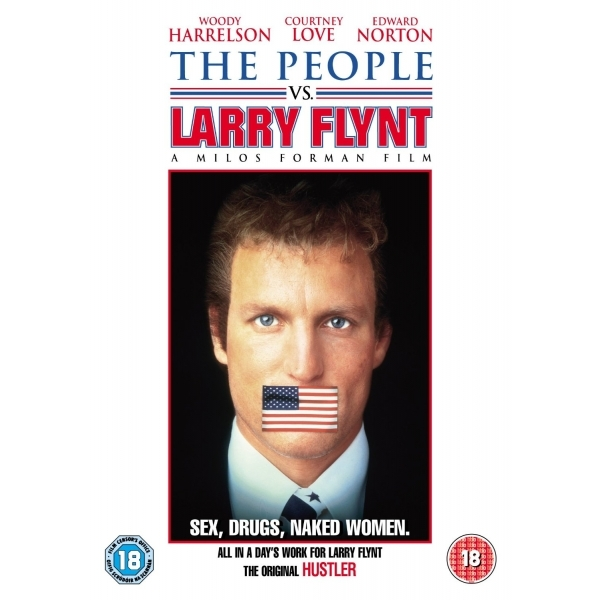 The People Vs Larry Flynt DVD (1996)