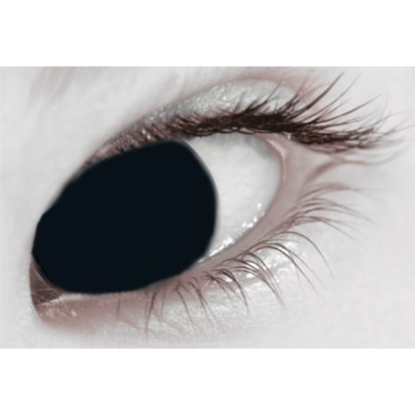 Black Out 1 Day Halloween Coloured Contact Lenses (MesmerEyez XtremeEyez) - Image 4