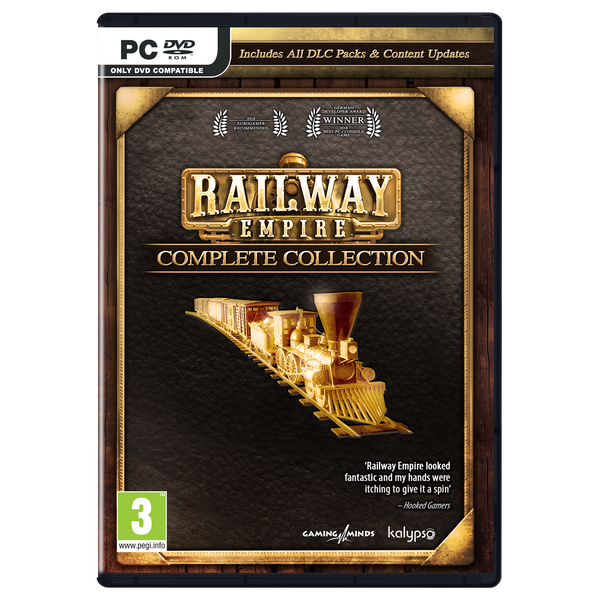 Railway Empire Complete Collection PC Game