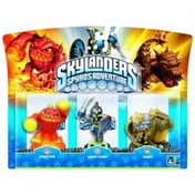 Eruptor, Chop Chop, and Bash (Skylanders Spyro's Adventure) Triple Character Pack (Ex-Display) Used - Like New