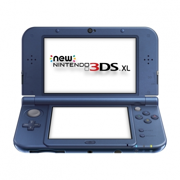 New Nintendo 3DS XL Handheld Console Metallic Blue - Image 1