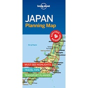 Lonely Planet Japan Planning Map by Lonely Planet (2018)