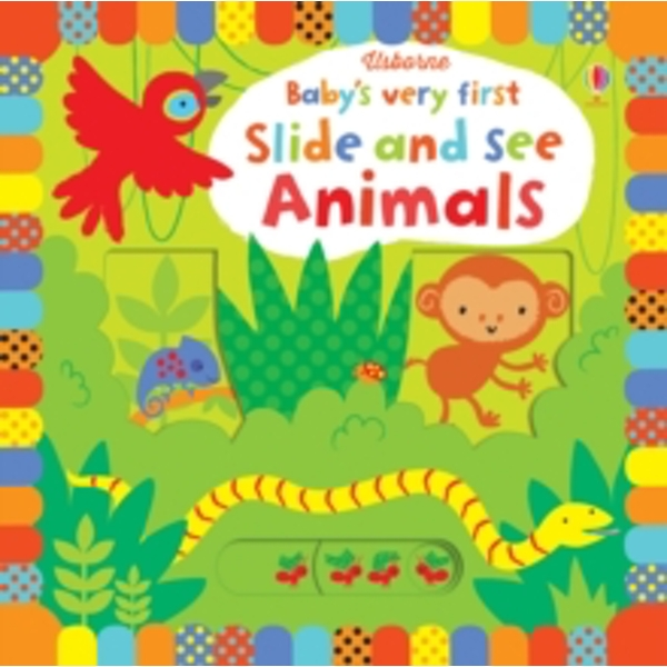 Baby's Very First Slide and See Animals by Fiona Watt (Board book, 2015)