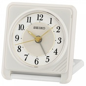 Seiko QHT016W Ascending Beep Alarm Clock with Light Function White