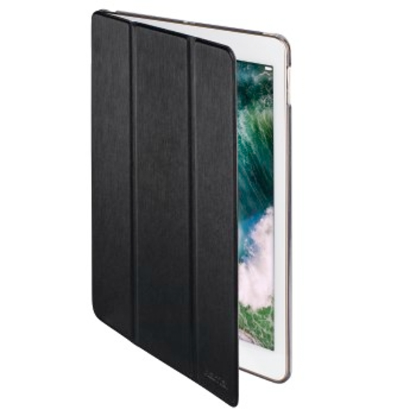 "Hama ""Fold Clear"" Tablet Case for Apple iPad 9.7 (2017/2018), black"
