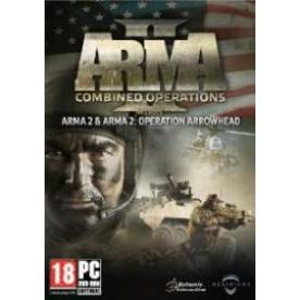ArmA II 2 Combined Operations (ArmA II + ArmA II Arrowhead) Game PC