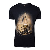 Assassin's Creed Origins - Hieroglyph Crest Men's X-Large T-Shirt - Black