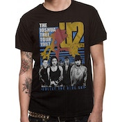 U2 - Black Bullet The Blue Sky Men's Small T-Shirt - Black