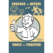 Fallout 4 Vault Forever Maxi Poster