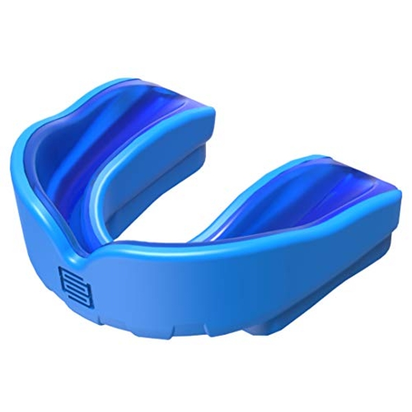 Makura Ignis Mouthguard - Blue/Blue, Senior (Age 11 & Over)