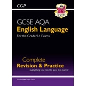New GCSE English Language AQA Complete Revision & Practice - Grade 9-1 Course (with Online Edition) by CGP Books (Paperback, 2015)