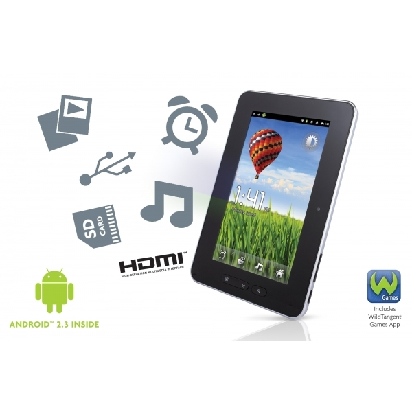 Astounding Storage Options Scroll Essential 7 Inch Android 2 3 Tablet 53511 Download Free Architecture Designs Rallybritishbridgeorg