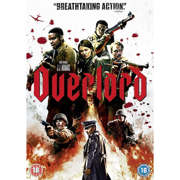 Overlord 2018 DVD