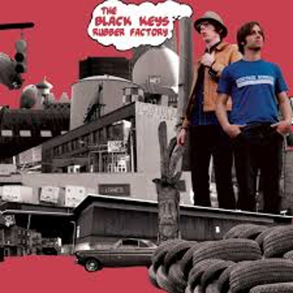The Black Keys ‎– Rubber Factory Vinyl