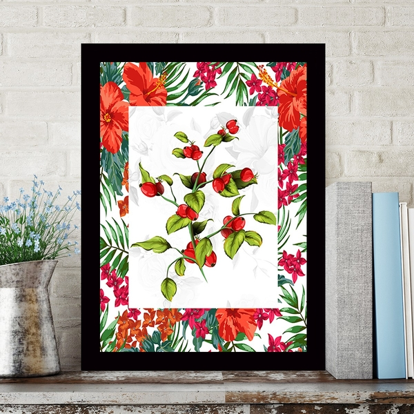 SCZ56698251733 Multicolor Decorative Framed MDF Painting