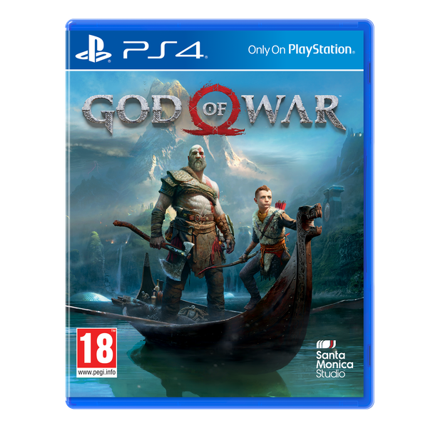 God of War PS4 Game - Image 1