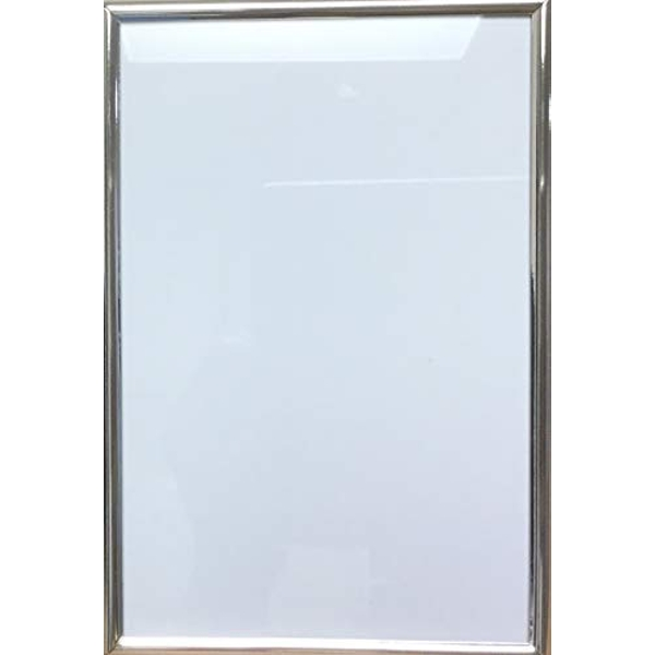 """4"""" x 6"""" - Impressions Thin Silver Plated Photo Frame"""