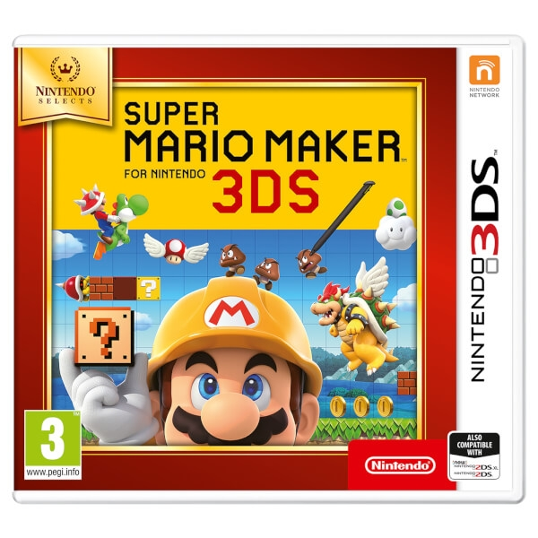 Super Mario Maker 3DS Game (Selects) - Image 1