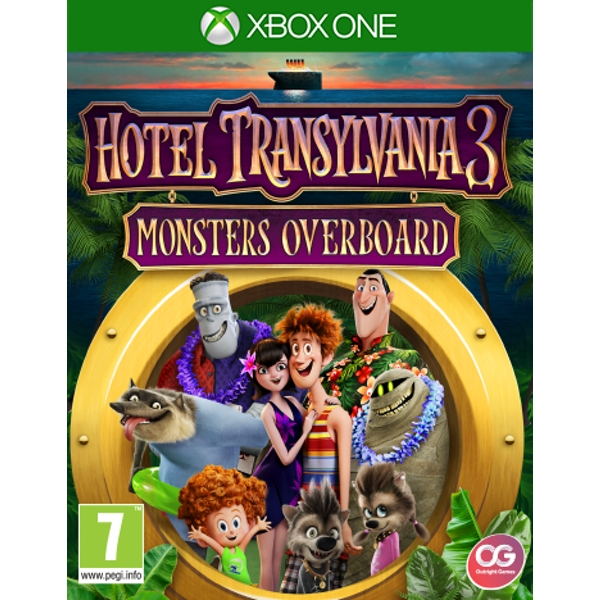 Hotel Transylvania 3 Monsters Overboard Xbox One Game