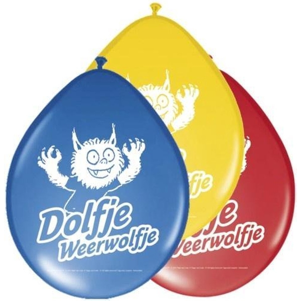 Dolfje Weerwolfje Birthday Balloons Pack of 8