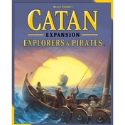 Ex-Display Catan Explorers & Pirates Expansion 2015 Refresh Board Game Used - Like New