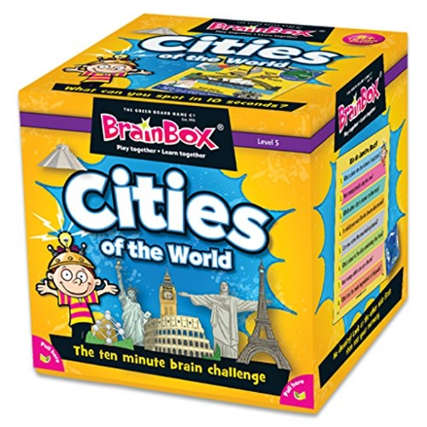 BrainBox Cities Card Game