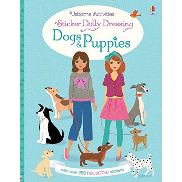 Sticker Dolly Dressing Dogs and Puppies  Paperback / softback 2018