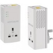 Netgear Powerline 1200 1 Port 1200 Mbps 1 Gigabit Port Extra Outlet Powerful Gigabit Wired Connection